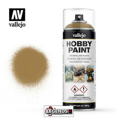 VALLEJO SPRAY PAINT - 400mL  Desert Yellow 28.015 *IN-STORE ONLY*