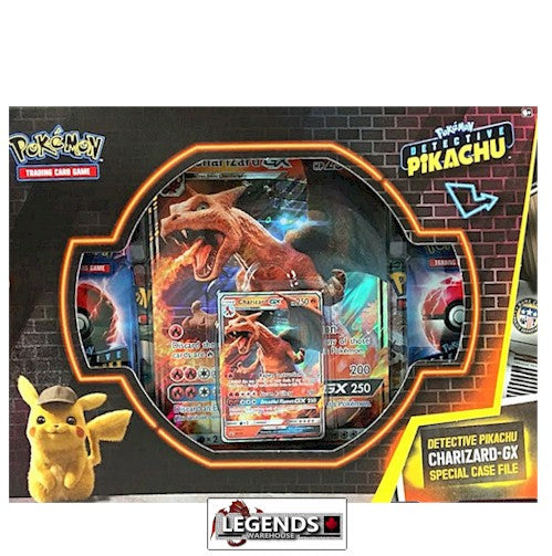 Pokemon Detective Pikachu Charizard Gx Special Case File Legends