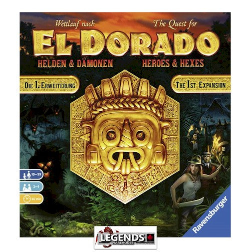 QUEST FOR EL DORADO - HEROES AND HEXES EXPANSION