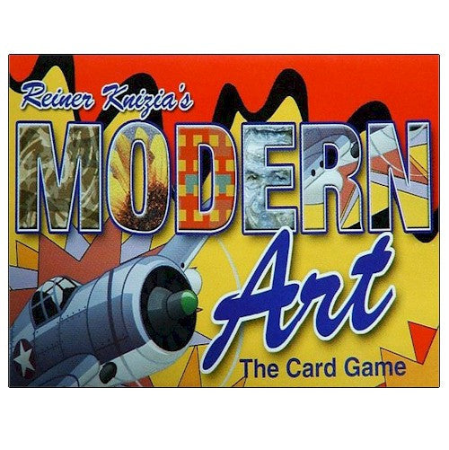 MODERN ART - THE CARD GAME