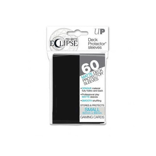 ULTRA PRO - DECK SLEEVES -PRO-MATTE Eclipse (60ct) Small Deck Protector BLACK