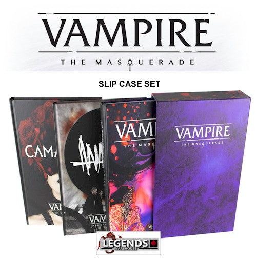 VAMPIRE: THE MASQUERADE - SLIP CASE SET (LIMITED SUPPLY)
