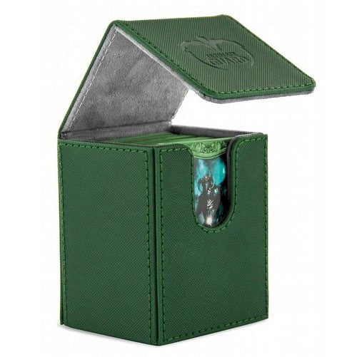 ULTIMATE GUARD - DECK BOXES - Xenoskin Flip Deck Case 100+ - GREEN
