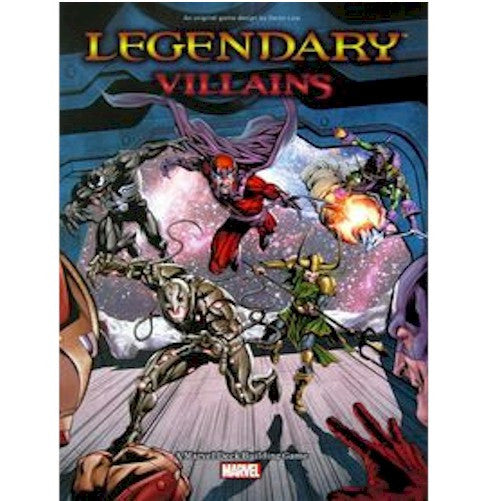LEGENDARY : A Marvel Deck Building Game - Villains