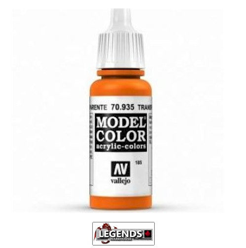 Vallejo Model Color 70.935 Transparent Orange