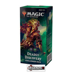 MTG - CHALLENGER DECKS 2019 - Deadly Discovery - ENGLISH  (MAGIC PRE-ORDERS)