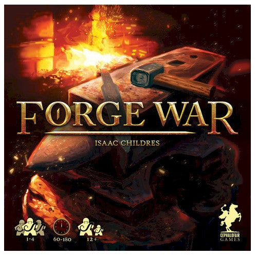 FORGE WAR  -  2ND PRINTING