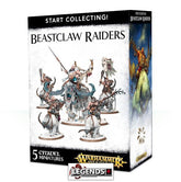 WARHAMMER AGE OF SIGMAR - START COLLECTING - BEASTCLAW RAIDERS
