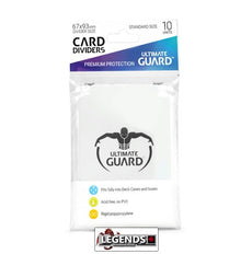 ULTIMATE GUARD - CARD DIVIDER - WHITE