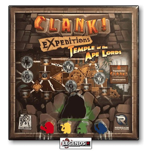 CLANK ! - EXPEDITIONS: TEMPLE OF THE APE LORDS