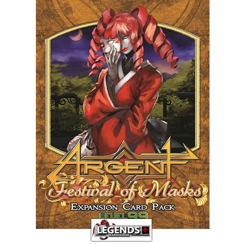 Argent: The Consortium  - Festival of Masks Expansion  2nd Edition