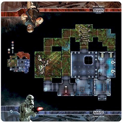 STAR WARS - IMPERIAL ASSAULT - MAPS - Training Ground Skirmish Map