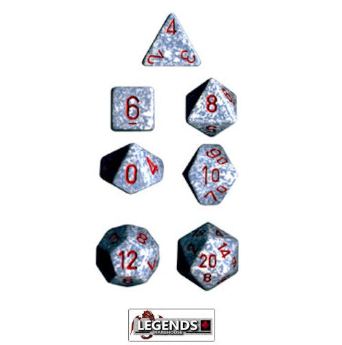 CHESSEX ROLEPLAYING DICE - Speckled Air 7-Dice Set  (CHX 25300)