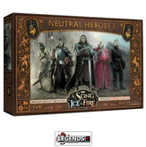 A Song of Ice & Fire: Tabletop Miniatures Game - Neutral Heroes #1 Product #CMNSIF505