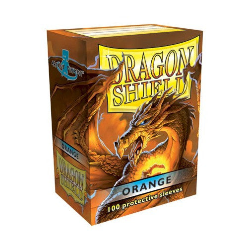 DRAGON SHIELD DECK SLEEVES - Dragon Shield • Orange