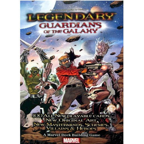 LEGENDARY : A Marvel Deck Building Game - Guardians of the Galaxy