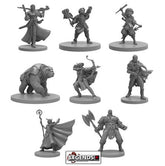 Critical Role Miniatures: Vox Machina   (New Arrival)      #STFCR001