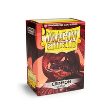 DRAGON SHIELD DECK SLEEVES - Dragon Shield • Crimson