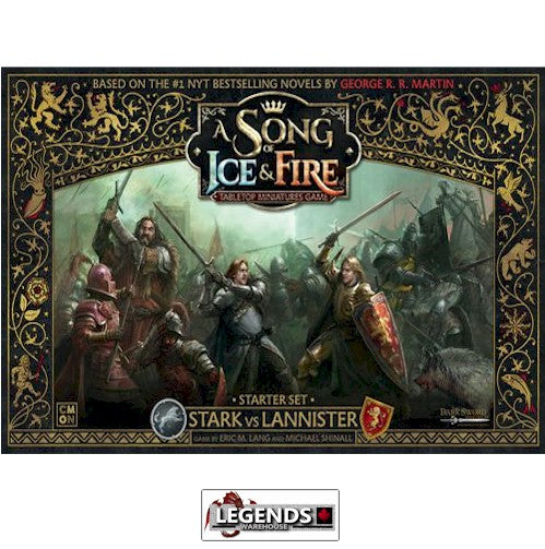 A Song of Ice & Fire: Tabletop Miniatures Game - The Stark vs Lannister Starter Set