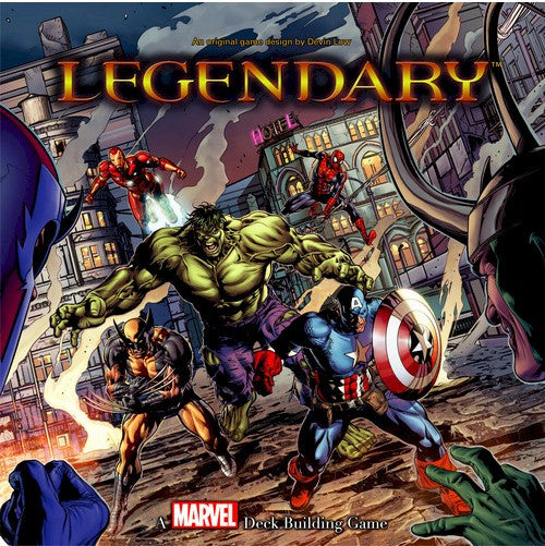 LEGENDARY : A Marvel Deck Building Game