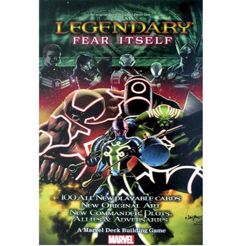 LEGENDARY : A Marvel Deck Building Game -  Fear Itself