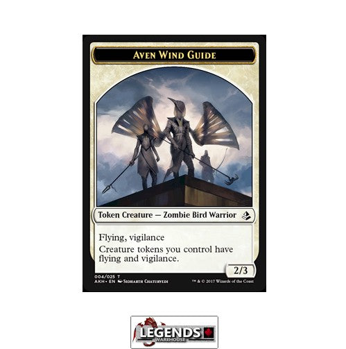 AVEN WIND GUIDE (TOKEN) - Amonkhet