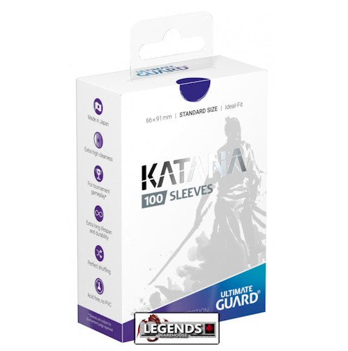 ULTIMATE GUARD - DECK SLEEVES - KATANA - 100CT - BLUE