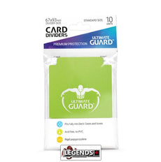 ULTIMATE GUARD - CARD DIVIDER - LIGHT GREEN