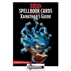 DUNGEONS & DRAGONS - 5th ED RPG - Spellbook Cards - Xanathar's Guide