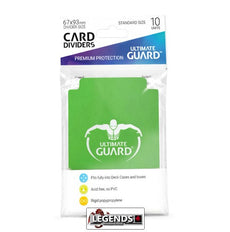 ULTIMATE GUARD - CARD DIVIDER - GREEN