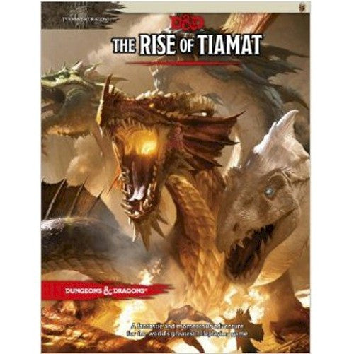 DUNGEONS & DRAGONS - 5th Edition RPG: The Rise of Tiamat