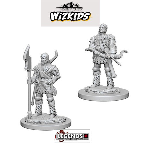 Deep Cuts - Unpainted Miniatures: Town Guards #WZK72583