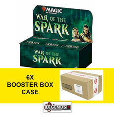MTG - WAR OF THE SPARK  (6) BOOSTER BOX CASE - ENGLISH  (MAGIC PRE-ORDERS)