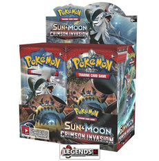 POKEMON - Sun and Moon: CRIMSON INVASION Booster Box