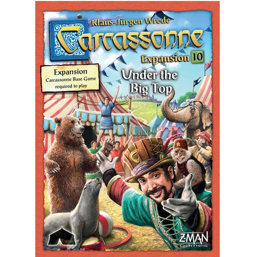 CARCASSONNE - UNDER THE BIG TOP