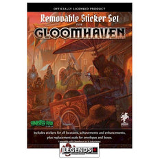 GLOOMHAVEN  -  Removable Sticker Sheet