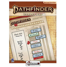 PATHFINDER - 2nd Edition - Combat Pad