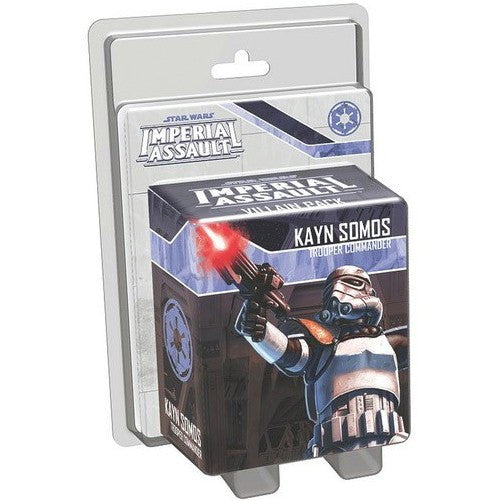 STAR WARS - IMPERIAL ASSAULT - Kayn Somos Villain Pack