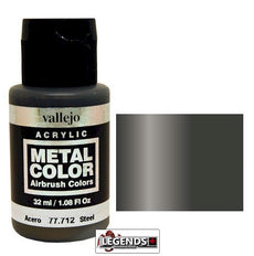 Vallejo Metal Color: Steel    Product #VAL77712