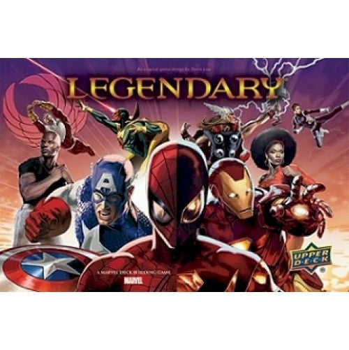 LEGENDARY : A Marvel Deck Building Game - Civil War Expansion