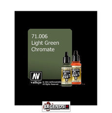 VALLEJO MODEL AIR:  : Light Green Chromate  (17ml)  VAL 71.006