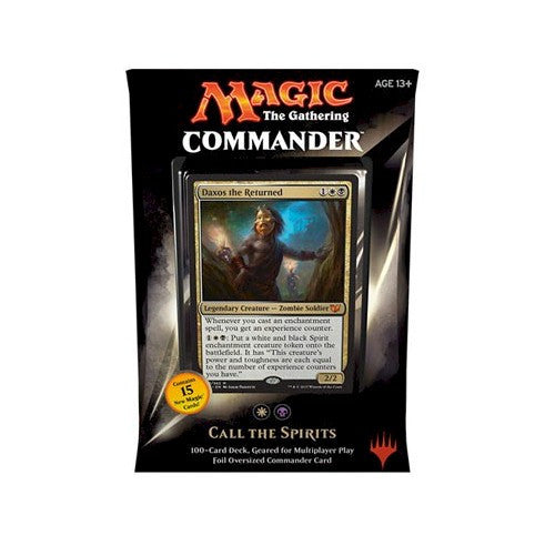 MAGIC COMMANDER - 2015 - CALL THE SPIRITS