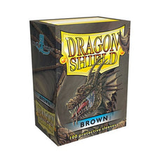 DRAGON SHIELD DECK SLEEVES - Dragon Shield • Brown