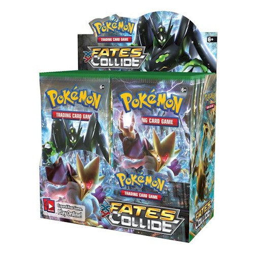 POKEMON - XY— Fates Collide Booster Box