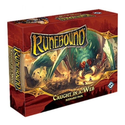RUNEBOUND - 3rd Edition - Caught in a Web Scenario Pack
