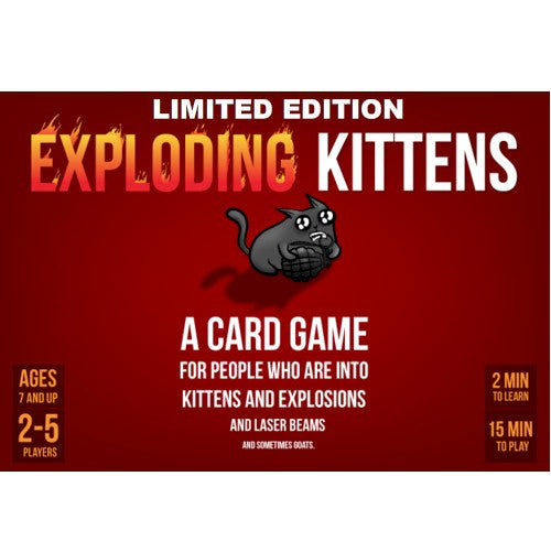 EXPLODING KITTENS - LIMITED EDITION