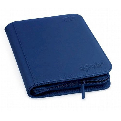 ULTIMATE GUARD - Zipfolio XenoSkin™ 4-Pocket - DARK BLUE