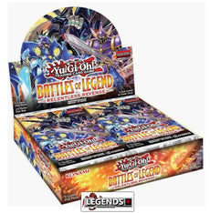 YUGI-OH  - Battles of Legend: Relentless Revenge  Booster Box [24 Packs] [Sealed]