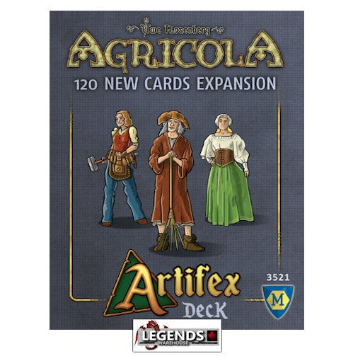 AGRICOLA - ARTIFEX DECK Expansion