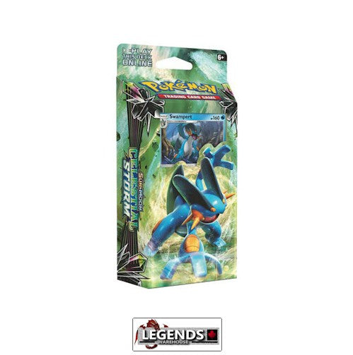 POKEMON - Sun and Moon: CELESTIAL STORM HYDRO FURY - SWAMPERT THEME DECK